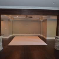 Completed-basement-build out-Gwinnett (3)